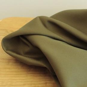 tissu sergé de coton - kaki
