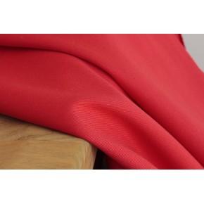 tissu sergé de coton rouge