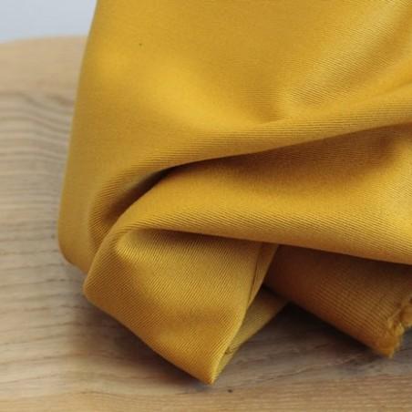 Gabardine coton - ocre