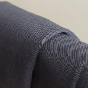 sergé de coton stretch - ardoise