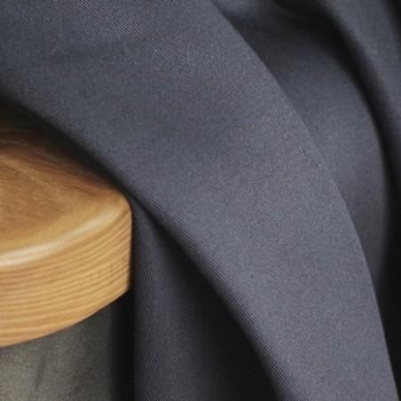 Gabardine coton - ardoise
