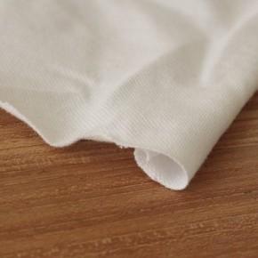 tissu maille piquée polo blanc