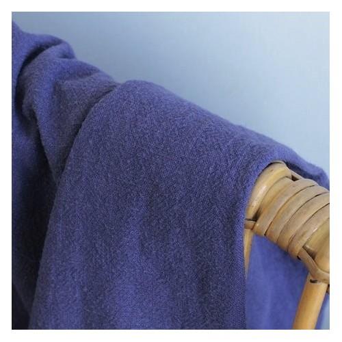 lin lavé bleu ardoise