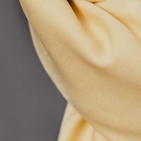 tencel jaune pâle