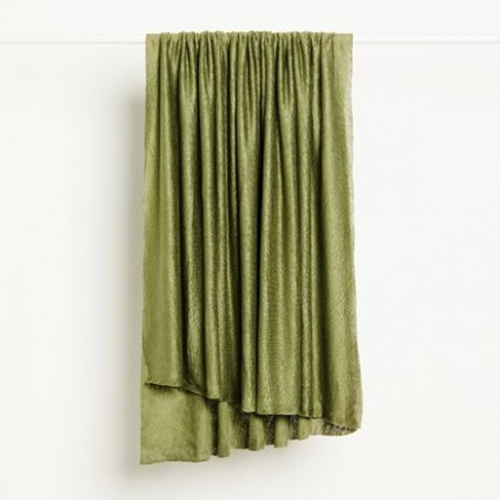 FINE LINEN KNIT - olive green