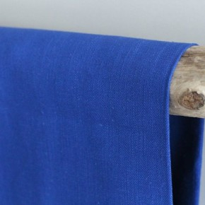 Tissu Ramie - bleu royal