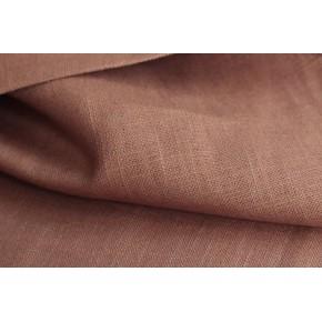 tissu lin ramie - marron clair