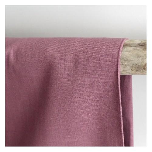 Tissu Ramie - vieux rose
