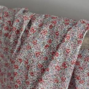 Tissu batiste de coton - Céleste