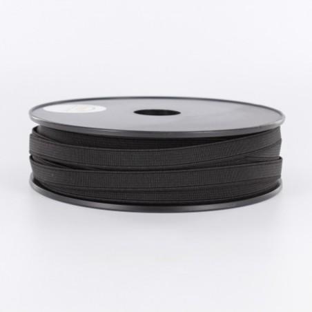 élastique noir 10 mm