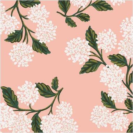 coton hydrangea blush - Rifle paper Co