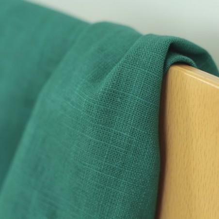 Tissu Ramie - vert