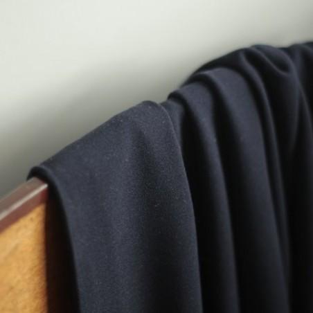 Tissu Crêpe - marine
