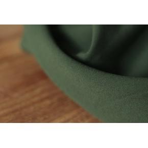 Crêpe de viscose - vert foncé