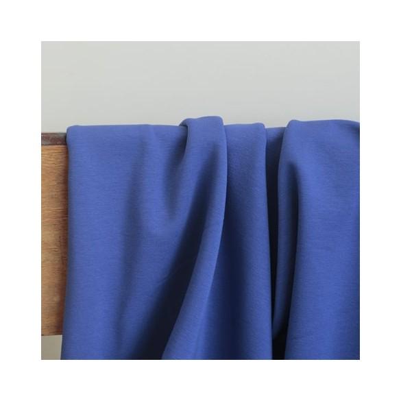 French terry bleu