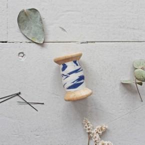 Biais shade COBALT - Atelier Brunette