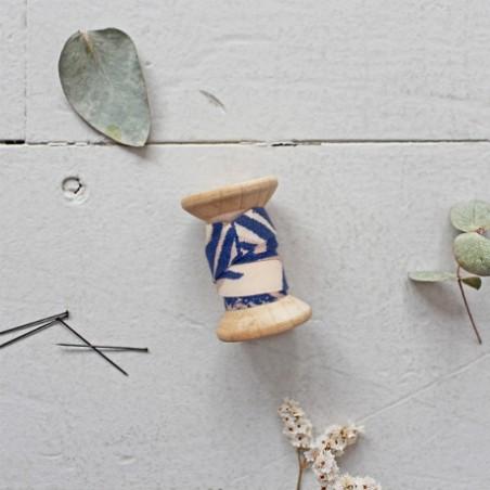 Biais canopy cobalt - Atelier Brunette