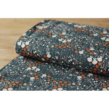 Tissu Cotton And Steel