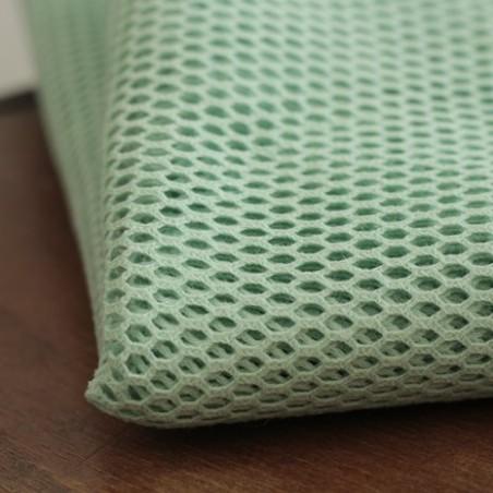 Tissu filet en coton bio - mint