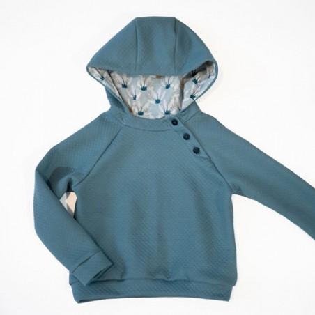 sweatshirt capuche Charlie - Ikatee