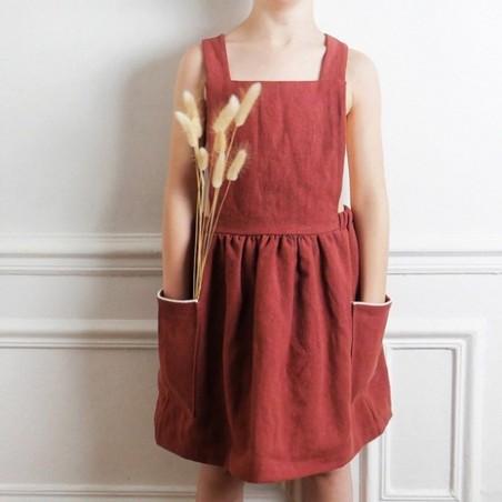Robe tablier Milano Kids - Ikatee