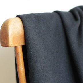 tissu en laine marine