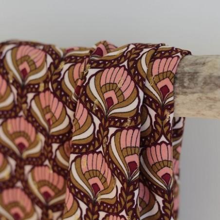 Tissu viscose Lucienne - rose