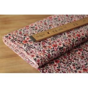 Tissu coton - Aquarelle fleurs