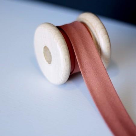 Biais 20 mm coton bio - Rouille