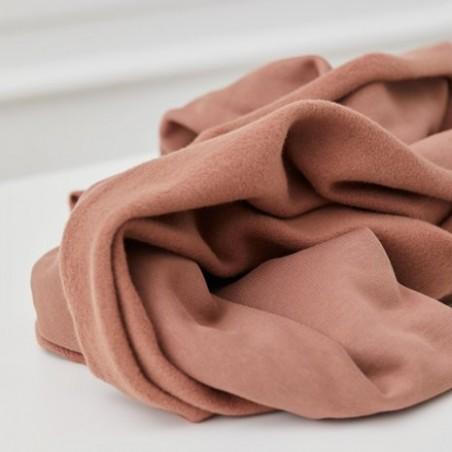ORGANIC BASIC BRUSHED SWEAT - old pink