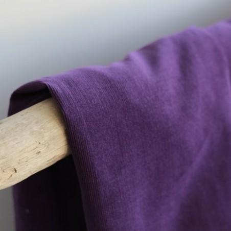 Velours milleraies violet