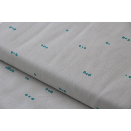 Morse Dot Ash art gallery fabrics
