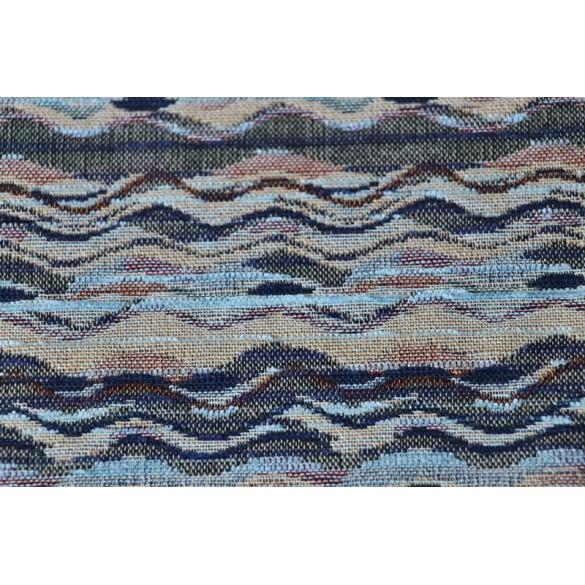 Jacquard Gobelin Wave bleu