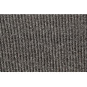 Bord-côte tubulaire gris anthracite