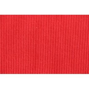 Bord-côte tubulaire rouge