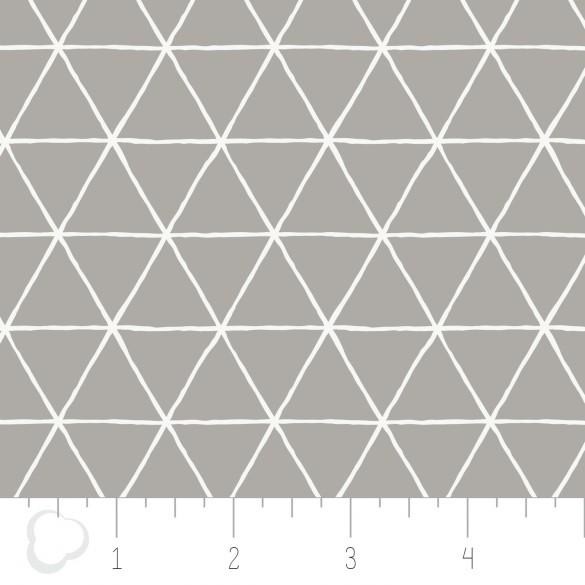 Grid in Zinc CAMELOT FABRICS