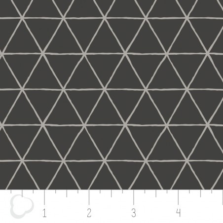Grid in Carbon CAMELOT FABRICS