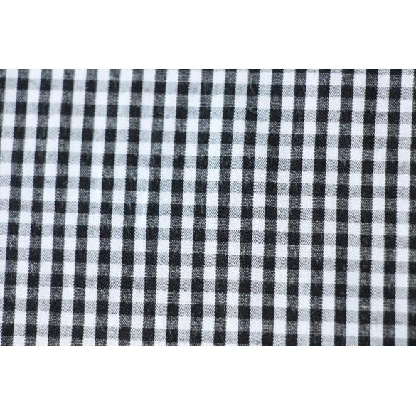 coton vichy noir et blanc. Black Bedroom Furniture Sets. Home Design Ideas