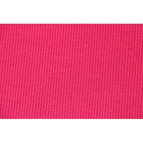 Bord-côte tubulaire rose fushia