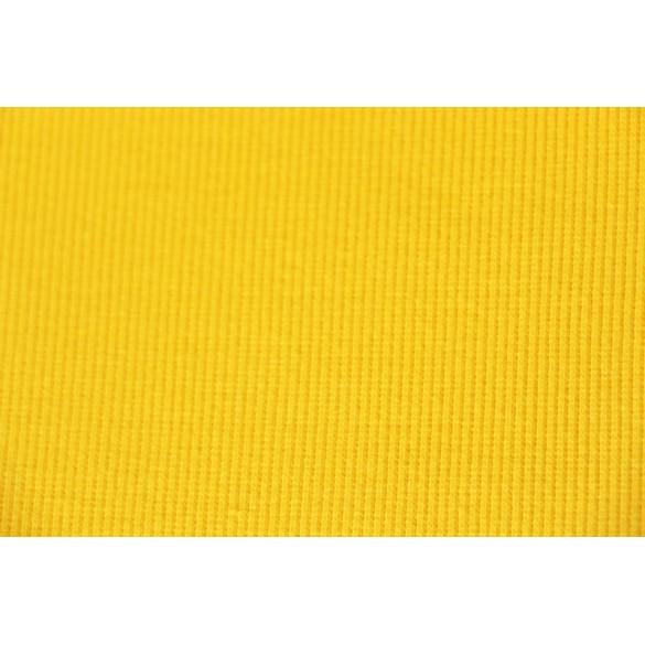 Bord-côte tubulaire jaune clair