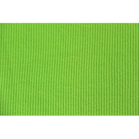 Bord-côte tubulaire vert pomme
