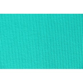 Bord-côte tubulaire bleu turquoise