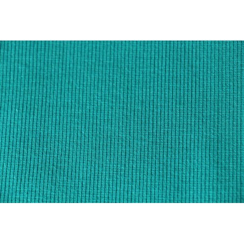 Bord-côte tubulaire bleu canard