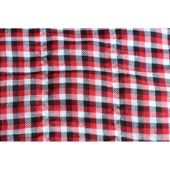 Petits carreaux noir/rouge/blanc