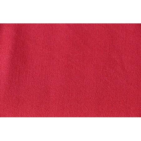 Crêpe de viscose Rouge