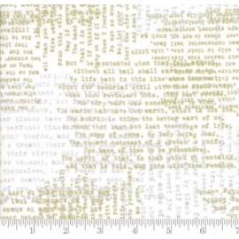 Imprimerie blanc/doré