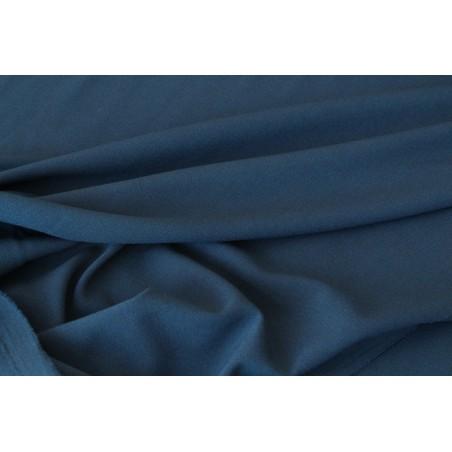 Crêpe de viscose bleu nuit