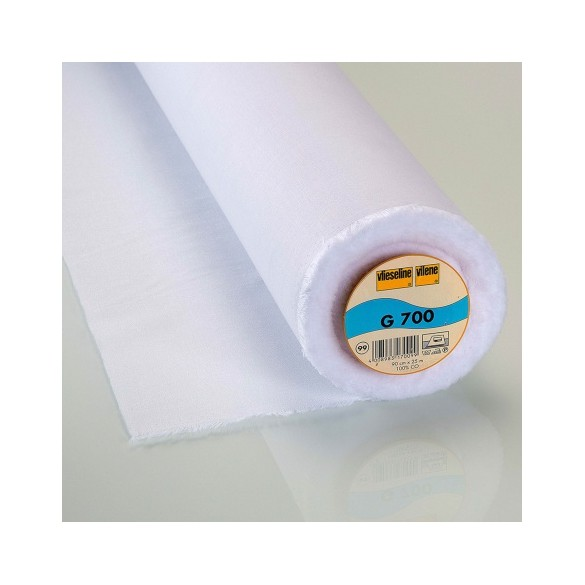 Entoilage tissé coton thermo G700 VLIESELINE
