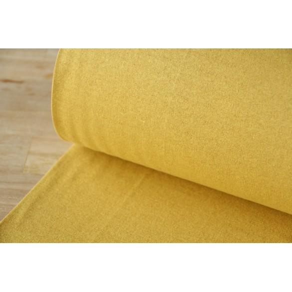 Bord Côte moutarde lurex doré