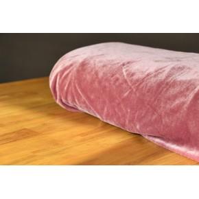 Panne de velours rose